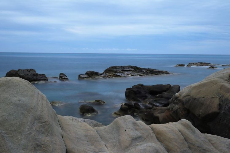 Sky Rock Sea