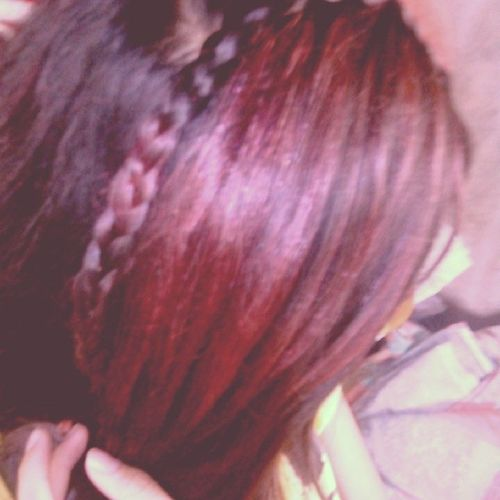 Red hot chili hair hahaha Red Hair Waterfallbraid Hairdiaries
