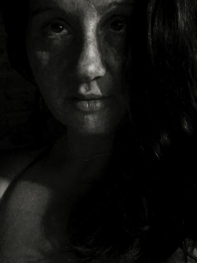 Self Portrait Around The World , Black & White , Newbie ✌ , Afterlove Freckle Face