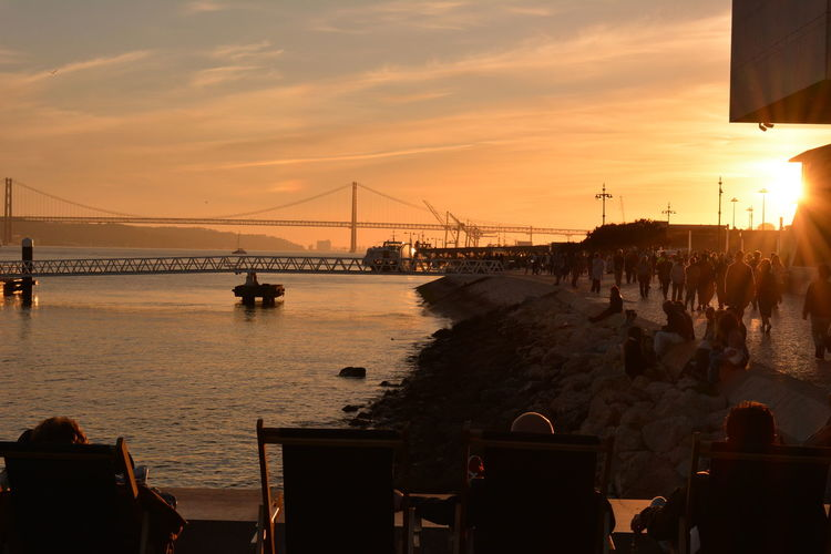 Sunset Bridge -