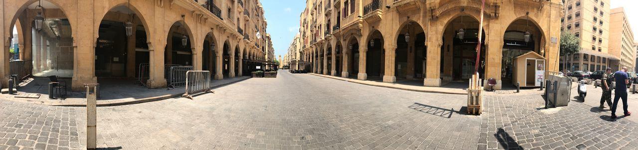 贝鲁特街头