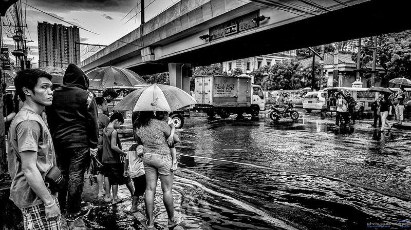 After the Rain Street Pinoyphotography Black And White Photography Streetphotographyphilippines Streetphotography_bw Streetphotography SonyNEX5n Nex5n Sonyalpha Manila, Philippines