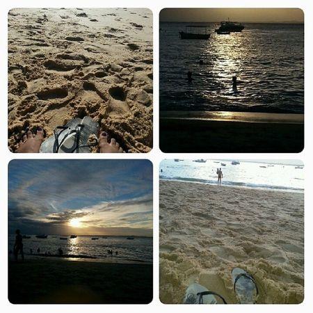 Tenho tudo o q preciso agora...Na areia sandália de praia eu vou tirar..... Portodabarra Pordosol Feriasacabando Sumer2014 NoFilter