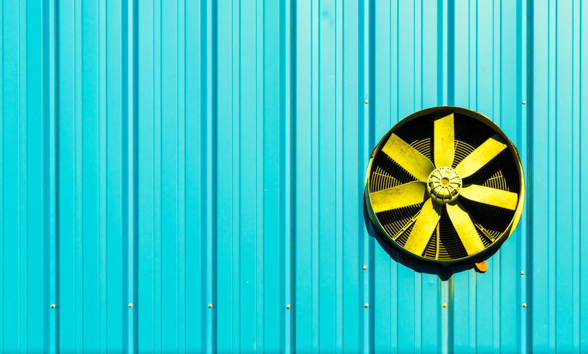 Architecture Turquoise Colored Wall Air Condition Air Duct Background Blue Corrugated Iron Day Exhaust Fan Minimal Minimalism Minimalist Photography  Minimalistic No People Old-fashioned Outdoors Pattern Prop Propeller Turquoise Modern Workplace Culture The Architect - 2018 EyeEm Awards