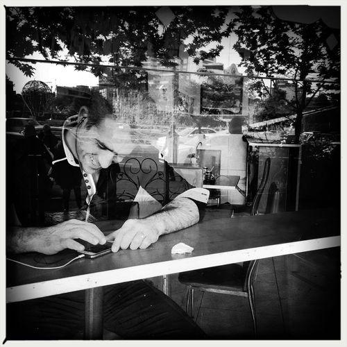 """Happy he who learns to bear what he cannot change."" - Friedrich Schiller ""شاد باد كسى كه بپذيرد آنچه را نمى تواند تغيير دهد."" - فردريش شيلر Streetphotography Street Streetphoto_bw Blackandwhite Black And White Black & White Monochrome Hipstamatic Portrait Candid IPhoneography EyeEm Best Shots Eye4photography  Eye4black&white  Eye4thestreets"