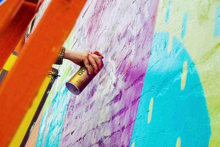bright walls