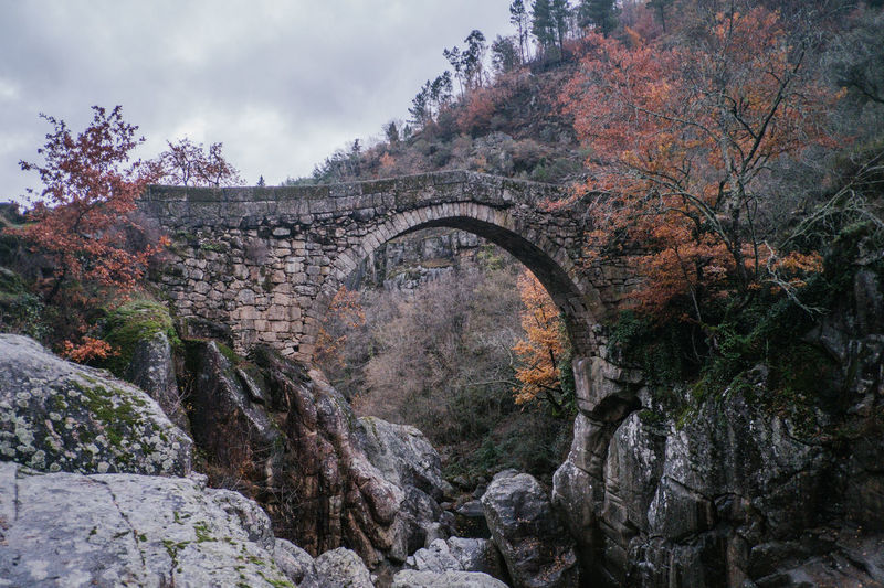 National Park Peneda Geres An Eye For Travel Business Stories Castle EyeEmNewHere FUJIFILM X-T2 Kornspeicher Lindoso Misarela Bridge National Park Nature Peneda-Gerês National Park Ponte De Misarela Portugal Shades Of Winter Arch Architecture Autumn Beauty In Nature Bridge Bridge - Man Made Structure Built Structure Day Espigueiros Espigueiros Do Lindoso Explore Forest Fujifilm Mountain Nature No People Outdoors Rock - Object Scenics Sky Tranquility Tree Water