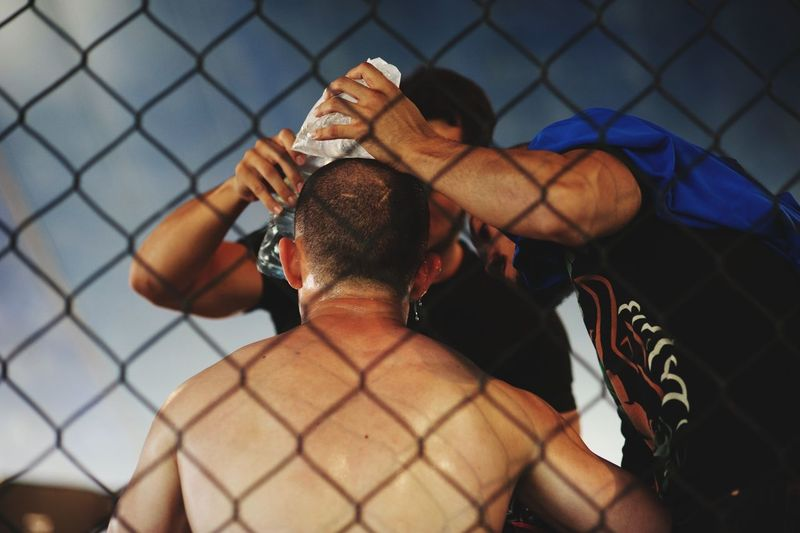 The Photojournalist - 2015 EyeEm Awards Kick Boxing Untold Stories Cage Fighter  Capture The Moment