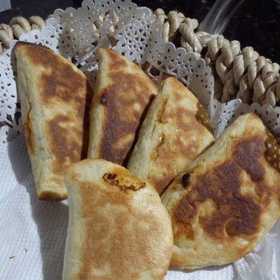 Empanaditas asadas de boniato/batata @migpm :)