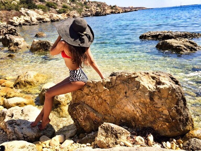 Hello World Summer2014 At Malta Blue Sky Like Relaxing Sexygirl Taking Photos
