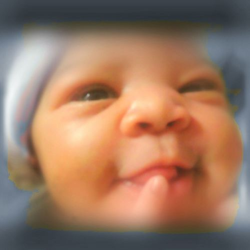 Hello World Enjoying Life Love At First Sight Too Cute My Heart Belongs To You Precious Moments Cheese! 1 Week Old