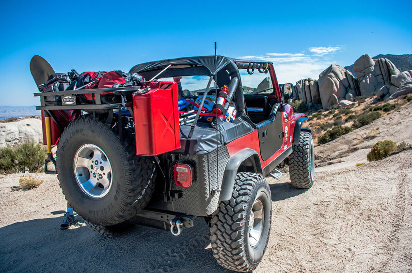 Jeep Jeep Wrangler  Camping Trip! Four Wheeling Mountain Top Big Bear Lake Rock Crawling