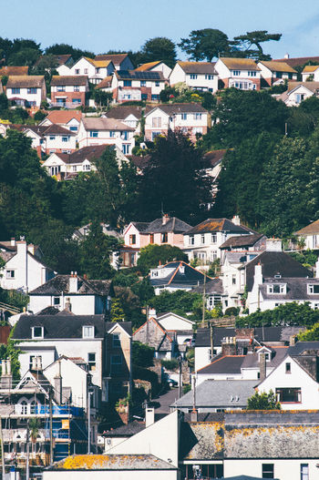Architecture Building Building Exterior Built Structure City Community Cornwall Cornwall Uk Day Growth House Human Settlement Looe Looe Beach No People Outdoors Residential Building Residential District Residential Structure Roof Sky Town TOWNSCAPE TOWNSCAPE Tree