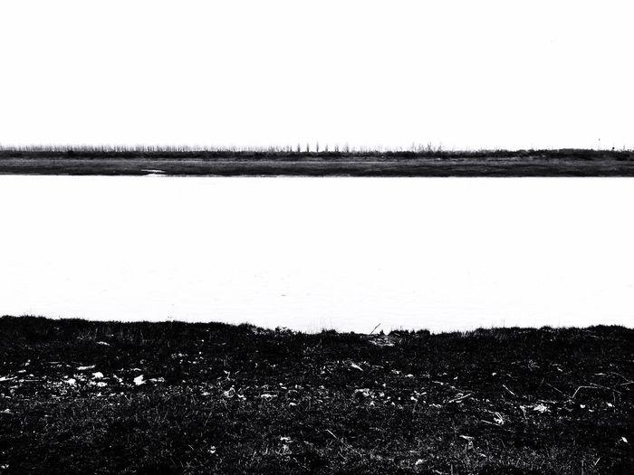 黑白 长江 河流 岸