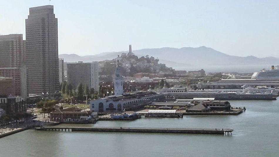 Sanfrancisco Northern California Bay Bridge The City San Francisco Port Bay Living Coit Tower