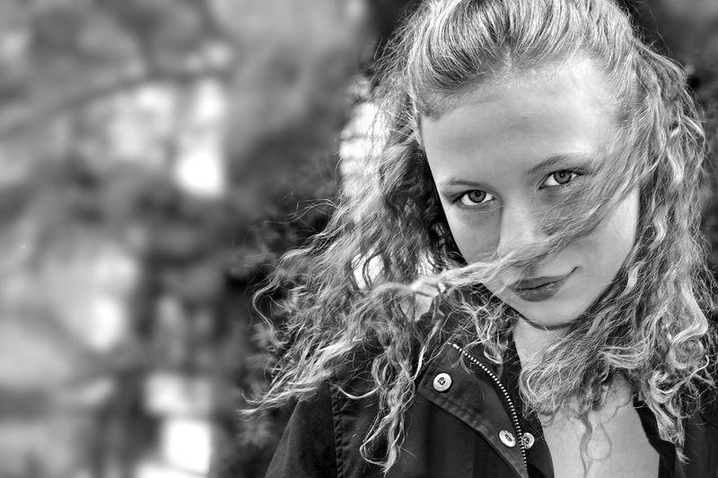 Adolescence  Child Close-up Eyes Front View Girls Hairs Headshot One Person People Portrait Uniqueness Wind EyeEm Portraits EyeEm Gallery EyeEm Best Shots Women Around The World The Portraitist - 2017 EyeEm Awards