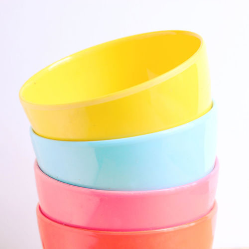White Background Studio Shot Yellow Still Life Indoors  Close-up No People Cut Out Multi Colored Choice Variation Group Of Objects Container Orange Color Pink Color Plastic Copy Space Design Cup Bowl Container