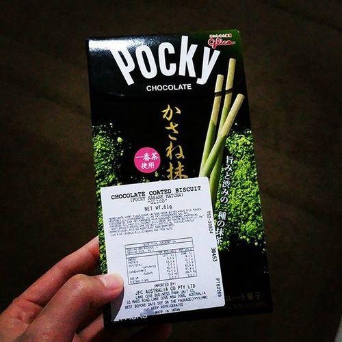 Matcha Pocky! Matcha Matchapocky Snacks Pocky