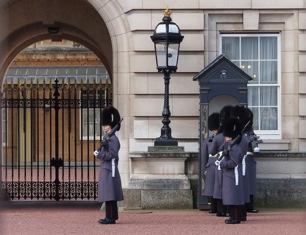 Royal's change the guard