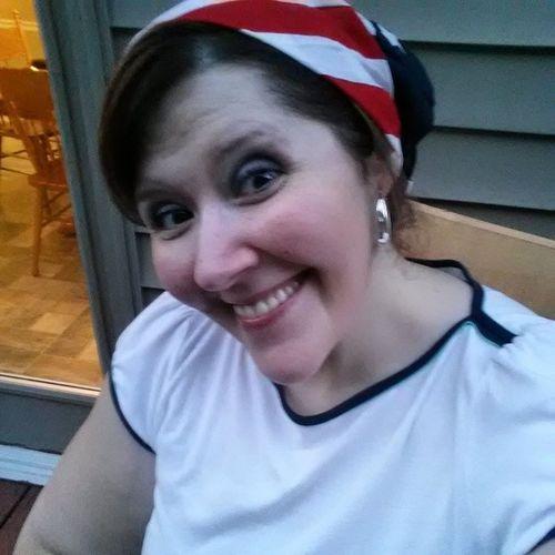 Selfie 4thofjuly Redwhiteblue