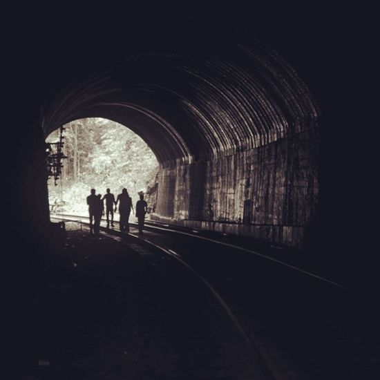 Men at Work Silhoutte Captures Instacaptures Silhouttephotography Tunnel Dudhsagar Instapic