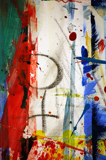 Abstract Accidental Art Close-up Colorful Creativity Indoors  No People Stains Venus Symbol