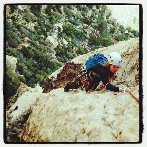 Rock Climbing Leonie Filter