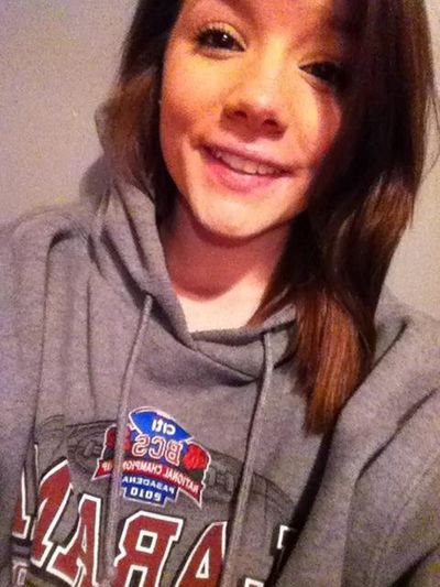 Excuse my face. But my baby's hoodie