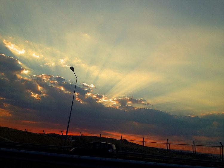 Roads Under Clouds