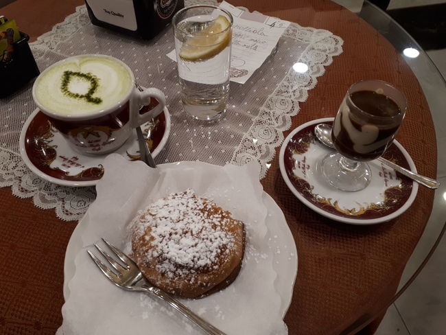 Dolcetto Sfogliatelle Dessert Coffee Cup Table Food And Drink Plate Drink Indoors  High Angle View Refreshment Drinking Glass Tea - Hot Drink Ready-to-eat Food Stories