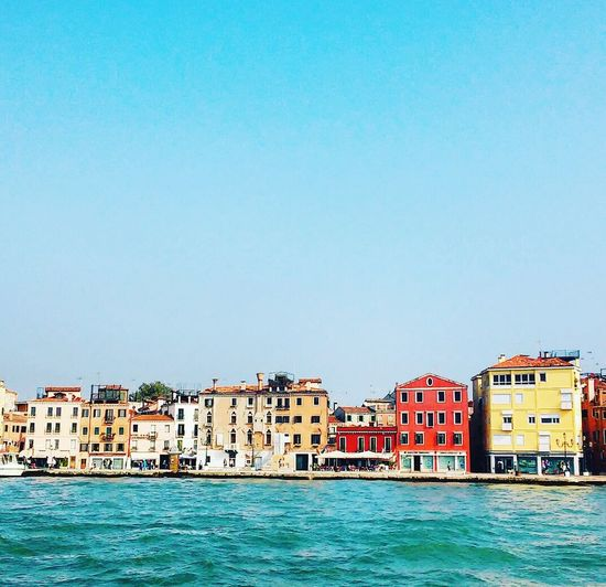 AndjelaMancic First Eyeem Photo EyeEm Best Shots EyeEm Gallery Vintage Colorful Houses Seaside Venice Italy