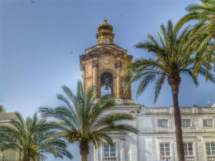 Das Rathaus von Cádiz
