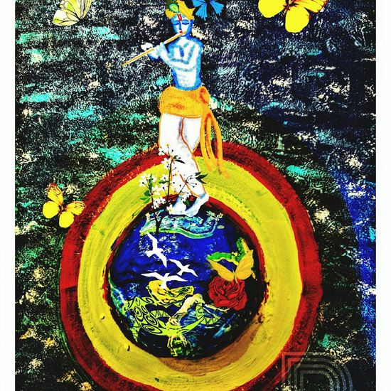 Krishna Saviour Lover Protector Nature World Earth Beauty Hello World Hi! Dontforget India Define Art Devotion Traditional Culture Life Eyem Gallery Digital Art