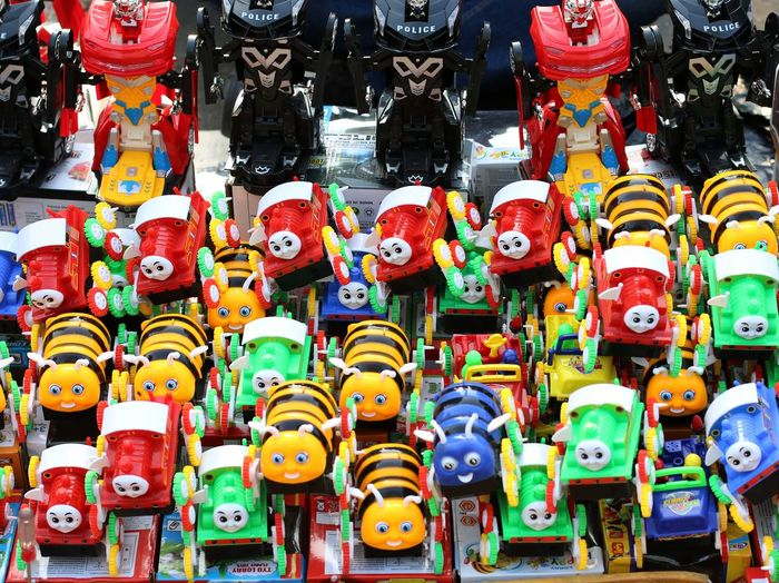 Colorful toys