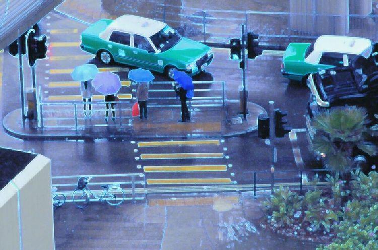 Streetphotography Shoot The Street With Pointer FootwearUmbrella DailyLifeOfStrangers