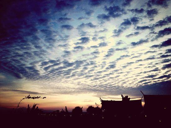 Island Life Clouds And Sky