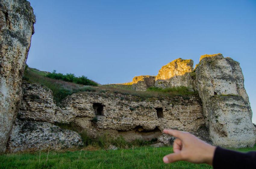 Blue Blue Sky Bluesky Green Harsova History History Teacher Nature Romania Ruins