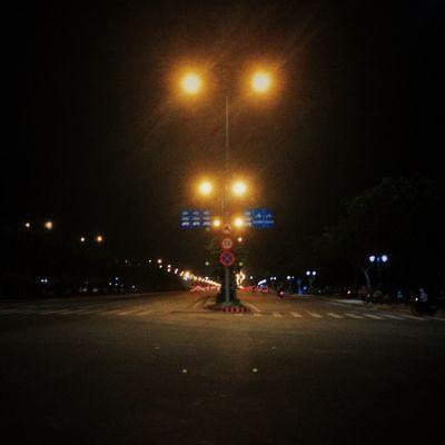 Streetphotography Streetlights City By Night Light