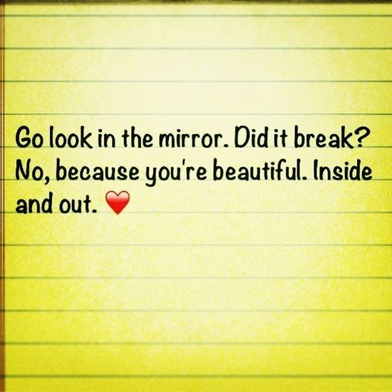 Your Beautiful. No Matter What!