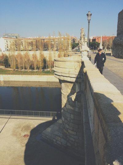 cruzαndσ єl puєntє Iphone6 IPhoneography IPhone Madrid España SPAIN Apple