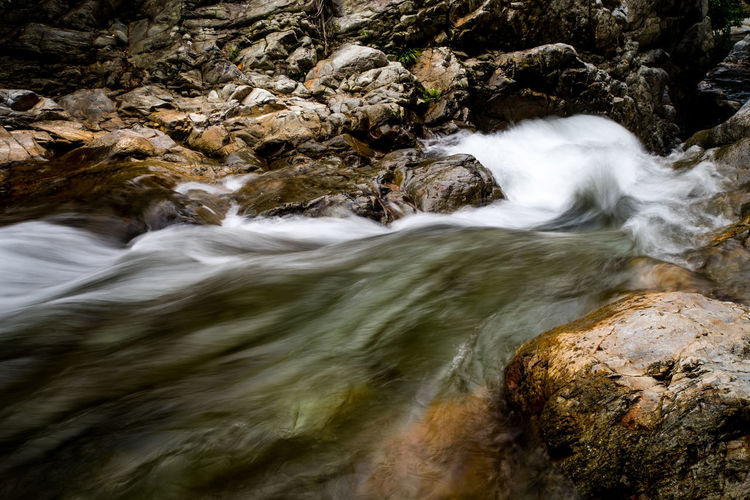 Rock Rock Motion Long Exposure Water Nature