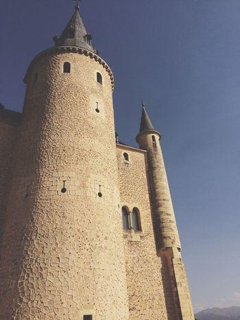 Alcázar Segovia Alcazar Castilla España