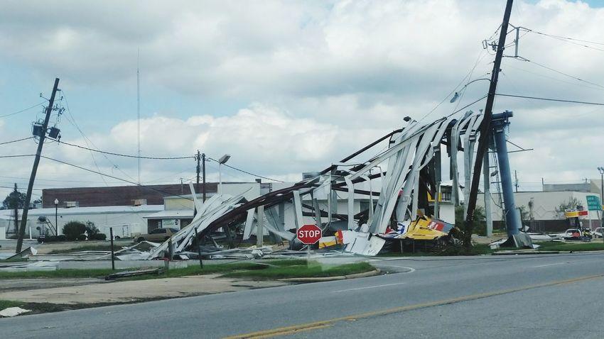 • Hurricane Michael • Hurricane Michael 2018 Destruction Extreme Weather Wind Damage Hurricane - Storm Building Hurricane Damage Hurricane Nature Storm Damage Georgia