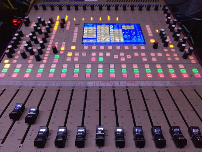 Sound Mixer Technology Sound Recording Equipment Control Panel Arts Culture And Entertainment Equipment Music Studio Mixing Recording Studio Night Close-up No People