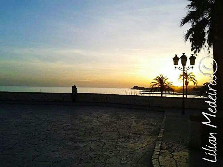 Sunset Vacations Beach Nature People Reflexão  Vacations City Cities Espanha España Casal