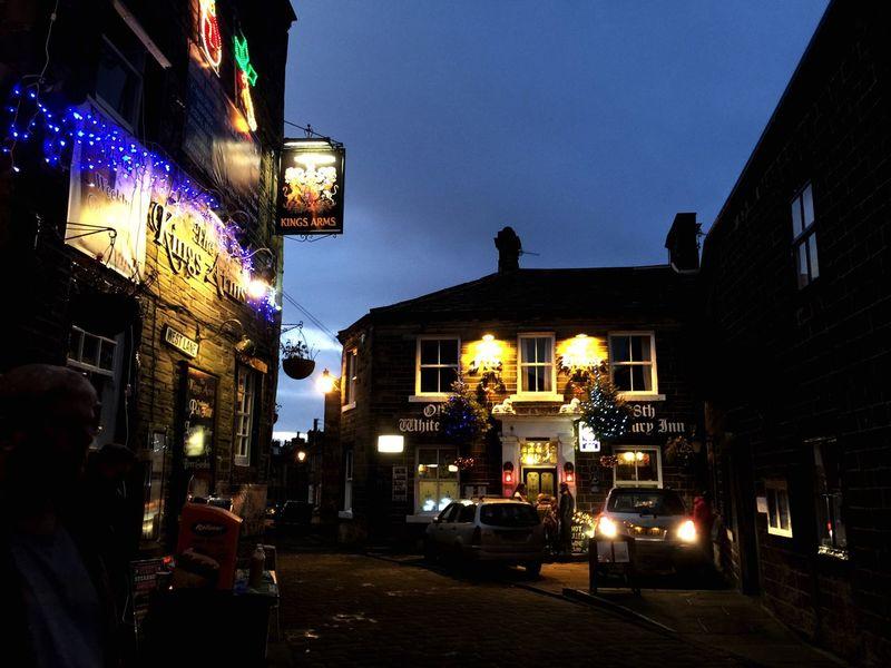 Glitch Christmastime Emily Bronte Haworth Tourism Yorkshire #urbanana: The Urban Playground