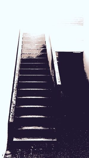 Upstairs Stairs Stair Blackandwhite Black And White Blackandwhite Photography Noir Et Blanc Noir Noiretblanc Streetphotography Street Photography Gradient Contrast Contrasts Contraste Contrasting Colors Lonely Loneliness Waytoparadise Hell Vs Heaven