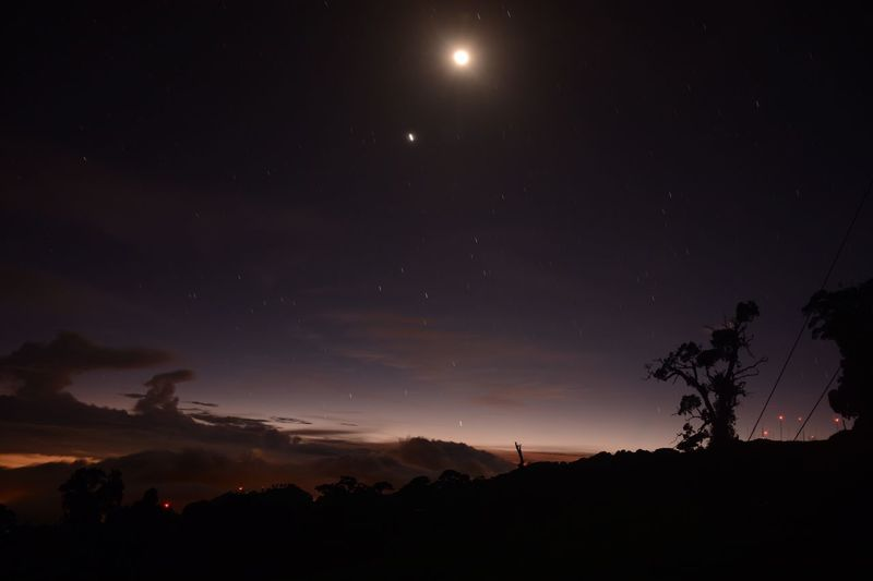 Un atardecer cerca del volcán Irazu, Cartago,Costa Rica Sky Night First Eyeem Photo