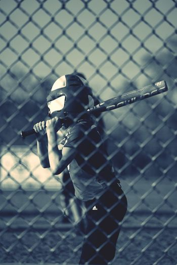Softball Softball Game Batting Game Time! Softball Girls Softball Is Life Softballpictures Sports Photography Sports Softball<3 Fence Chainlink Fence