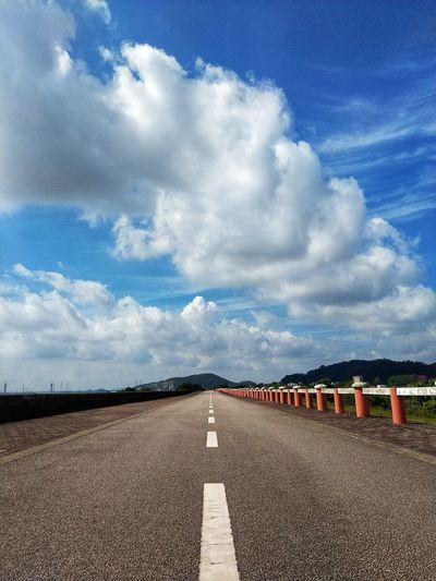 Road Blue Sky